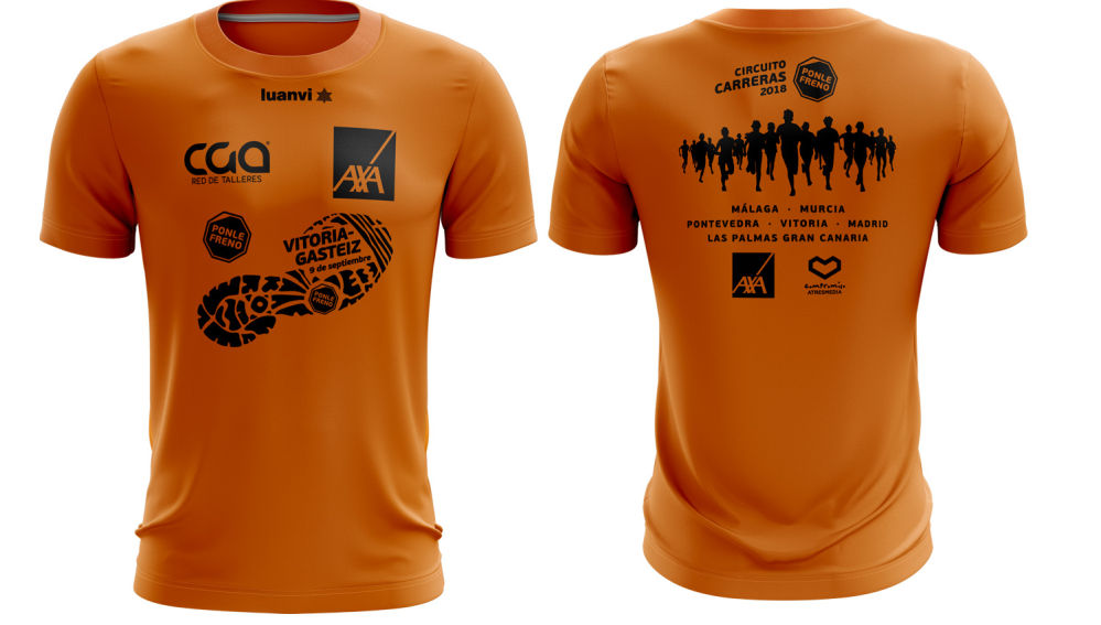 Camiseta Carrera Ponle Freno Vitoria