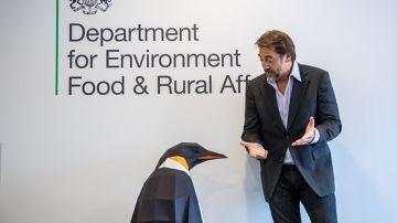 Javier Bardem lleva hasta Londres su compromiso de crear un Santuario Antártico