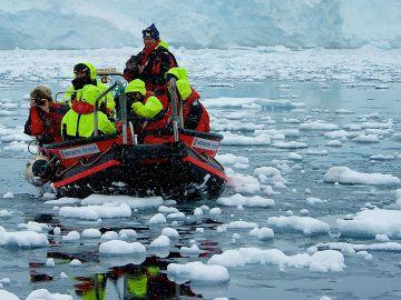 Exploración por la Antártida