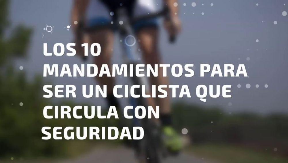 Lo que debes hacer para ser un ciclista que circula con seguridad