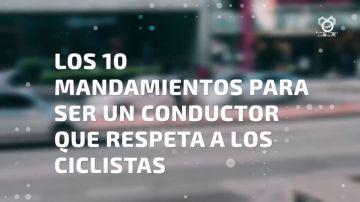 Lo que debes hacer para ser un conductor que respeta a los ciclistas