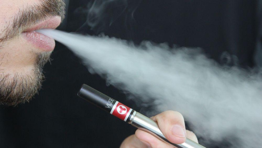 El vapor del cigarrillo electronico aumenta la inflamacion del pulmon