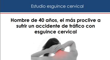Estudio esguince cervical