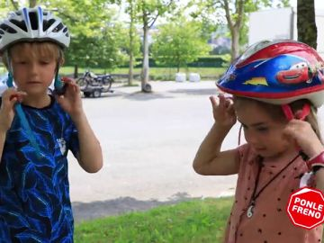 Los más pequeños aprenden seguridad vial con la recaudación de la Carrera Ponle Freno de Vitoria en 2017