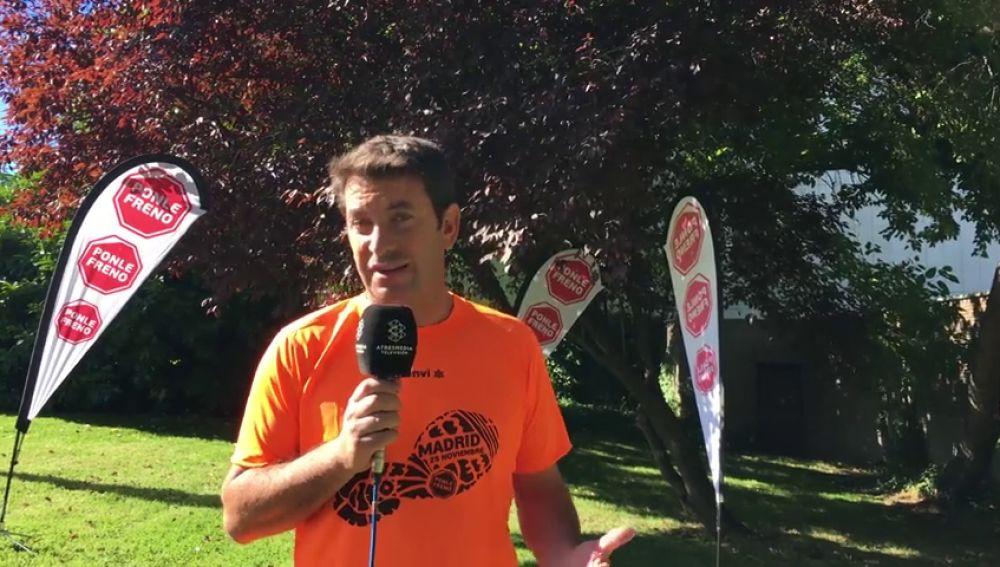 """Arturo Valls: """"La huella de la carrera Ponle Freno ha sido concienciar sobre la importancia de la seguridad vial a través del deporte"""""""