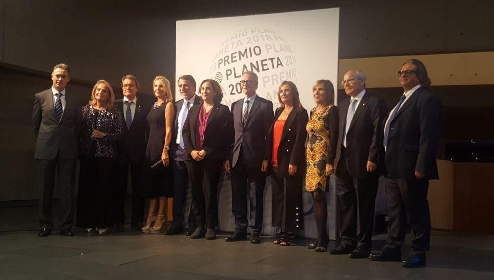 La alfombra roja del Premio Planeta 2018