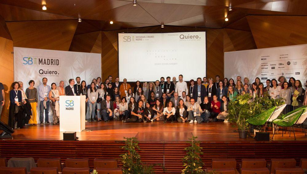 Sustainable Brands Madrid 2018 promueve el cambio hacia un modelo centrado en las personas