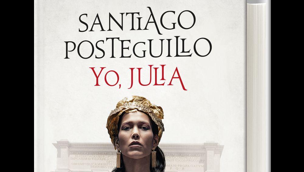 Portada 'Yo, Julia' de Santiago Posteguillo