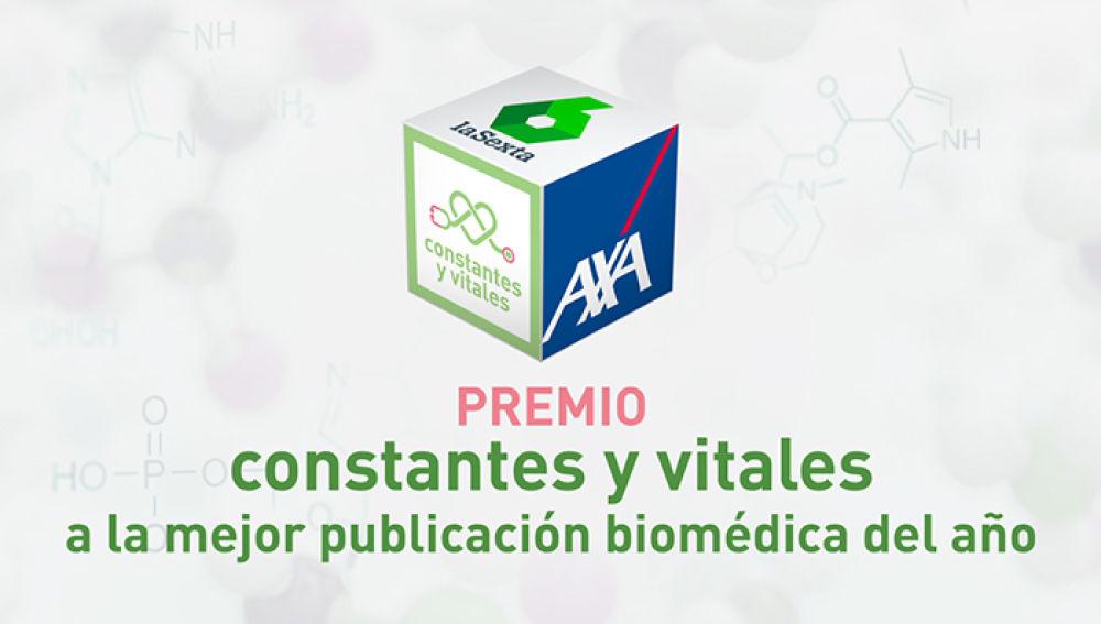 Premio Constantes y Vitales a la mejor publicación biomédica del año