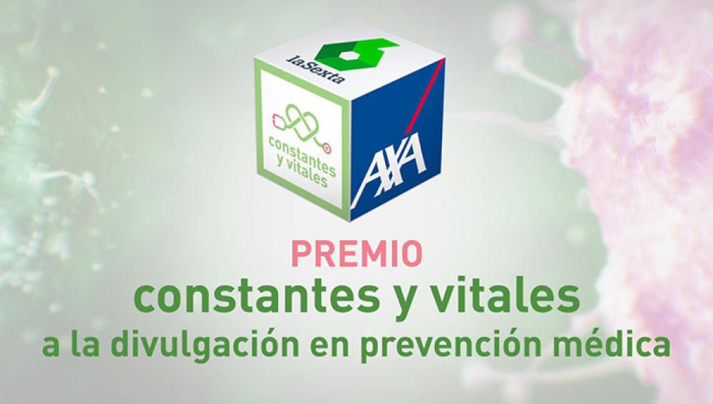 Premio Constantes y Vitales a la divulgación en prevención médica