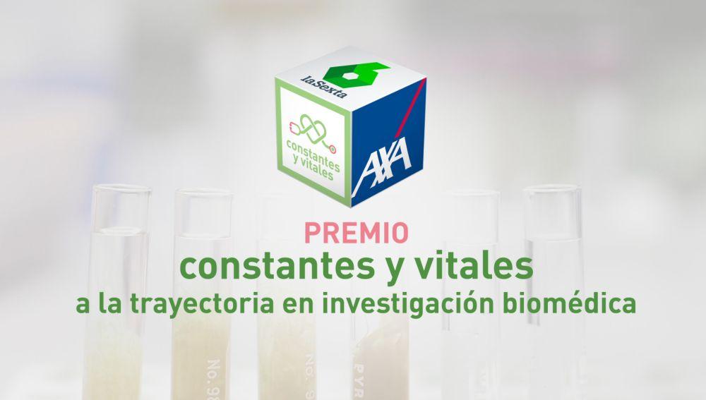 Premio Constantes y Vitales a la trayectoria científica en investigación