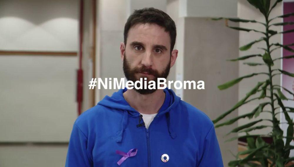 Los mejores cómicos de nuestro país protagonizan 'ni media broma', la campaña del Gobierno contra la violencia machista