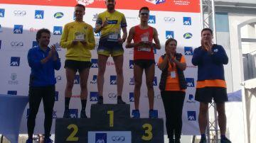Ganadores de la categoría masculina de 5 km