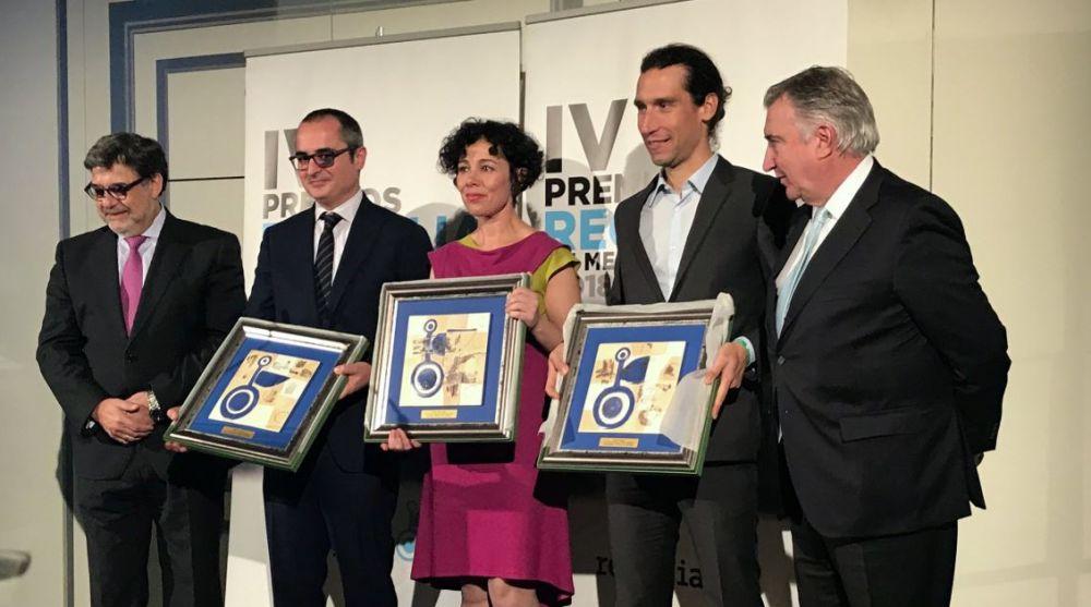 Foto de familia la IV edición de los Premios Recyclia de Medio Ambiente