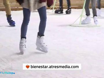 Patinaje sobre hielo para esta Navidad