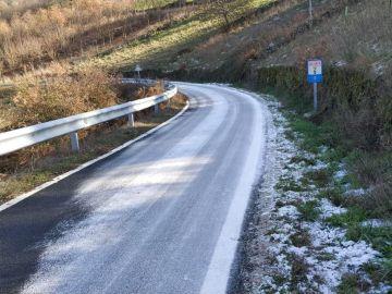 Carretera en Piñor