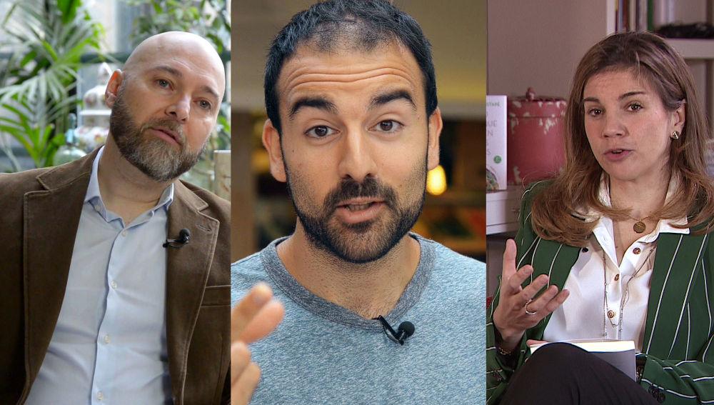 Fernando J. Múñez, Marian Rojas y Aitor Sánchez en el próximo Crea Lectura