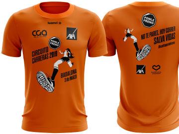Camiseta Carrera Ponle Freno Badalona