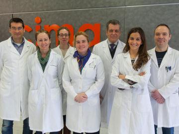Científicos del Cima Universidad de Navarra, pertenecientes al Centro de Investigación en Red Cardiovascular (CIBERCV)