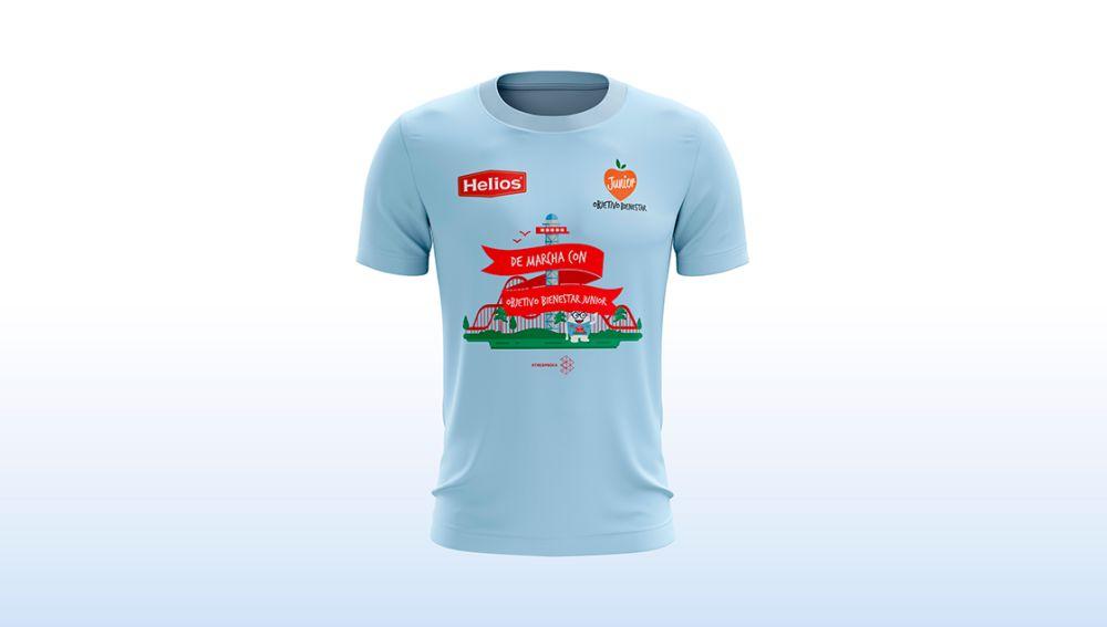 La camiseta de la Marcha con Objetivo Bienestar 2019