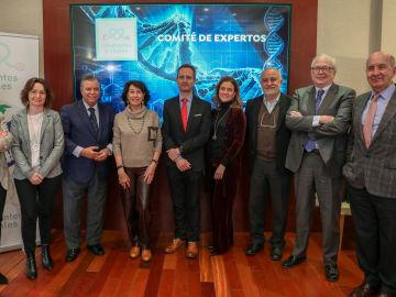 El Comité de Expertos de Constantes y Vitales en la sede de Atresmedia
