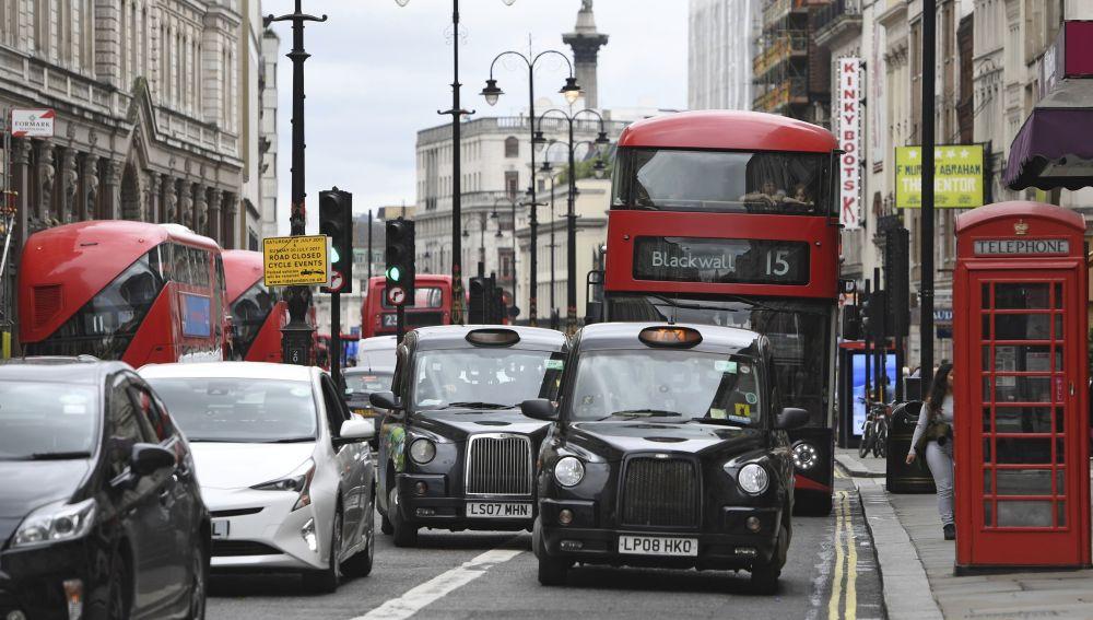 Tráfico en Londres