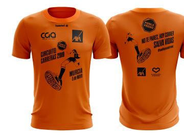La camiseta de la Carrera Ponle Freno de Murcia 2019
