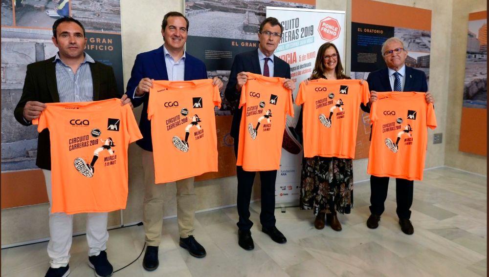 Presentación de la Carrera Ponle Freno de Murcia 2019