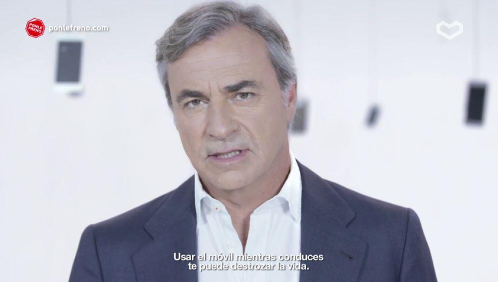 """Carlos Sainz: """"La mayoría de los mensajes que recibes no son importantes y ninguno es más urgente que lo que está pasando en la carretera"""""""