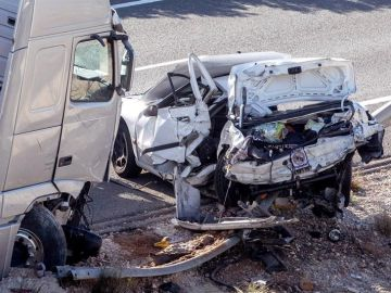Accidente de tráfico en Cieza, Murcia