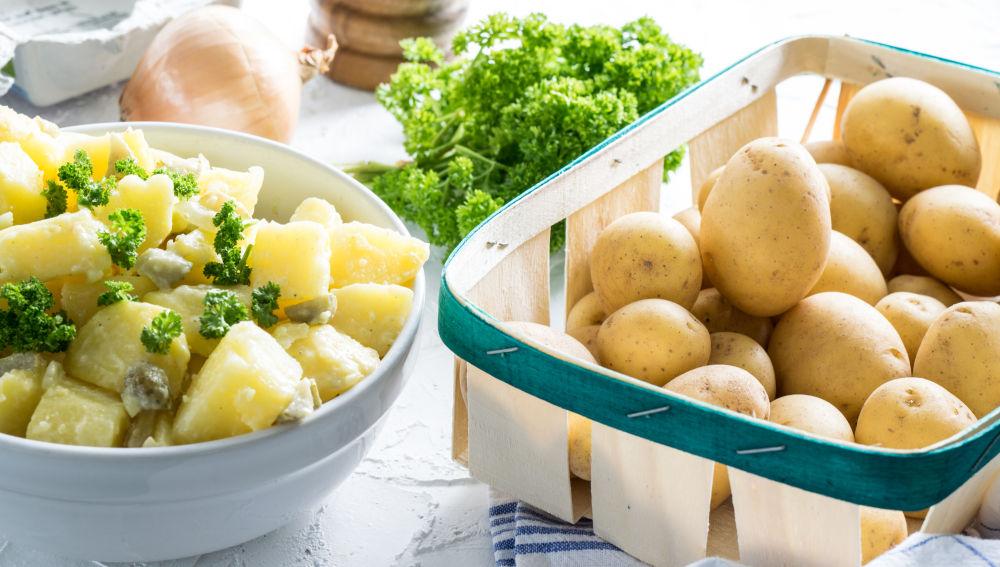 Los beneficios de la patata