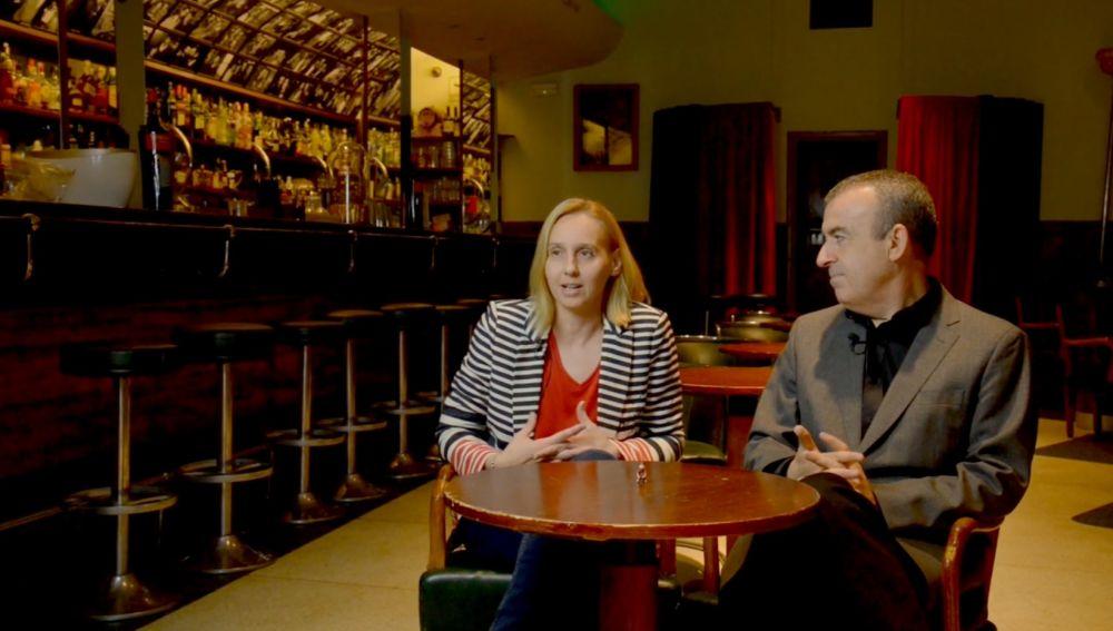 Noemí Trujillo y Lorenzo Silva presentan 'Si esto es una mujer'
