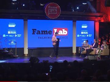 Iñaki Echevarría, ganador de FameLab España