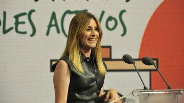 Ainhoa Arbizu repite como maestra de ceremonias de los premios entregados en la sede del Grupo Atresmedia