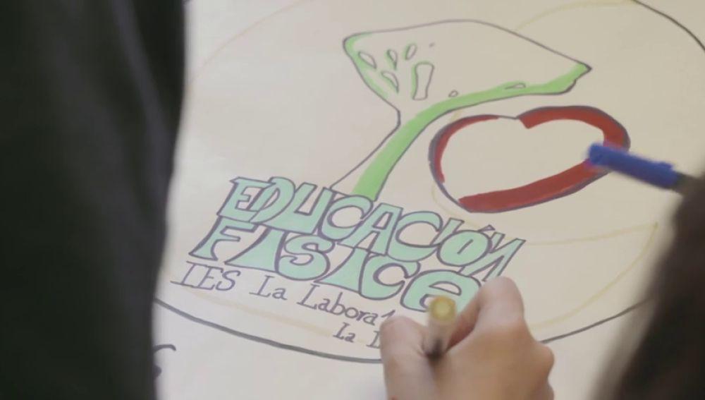 Tercer premio de la VII edición de Coles Activos: IES La Laboral de la Laguna de Tenerife
