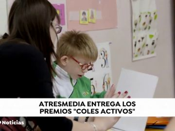 Premios coles Activos Noticias