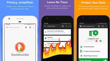 DuckDuckGo es un motor de búsqueda que procura asegurar la privacidad del usuario.