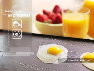 Añade una fuente de proteínas a tus desayunos para mejorar tu bienestar