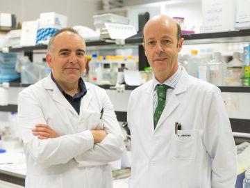 Xabier Aguirre y Felipe Prósper, del CIMA y la Clínica Universidad de Navarra