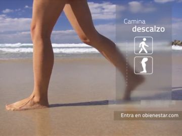 Descubre los beneficios de andar descalzo
