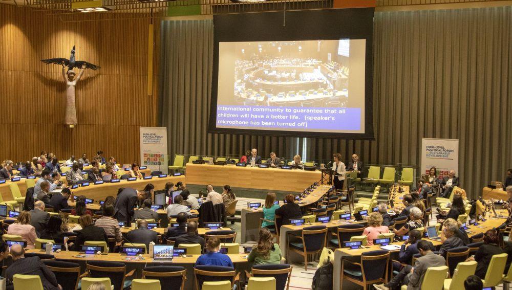 Reunión de la ONU para debatir los Objetivos de Desarrollo Sostenible