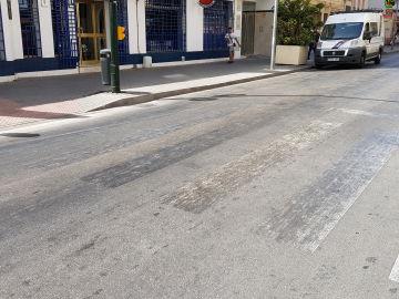 Repintado pasos de peatones