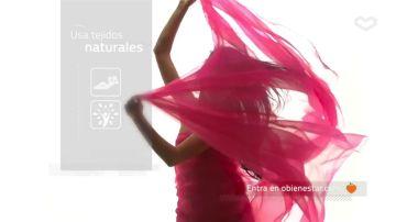 Usa telas orgánicas y naturales para proteger tu piel y el medio ambiente