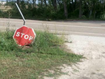 señal caida o derribada hace 4 años cl 626 kilometro 191.