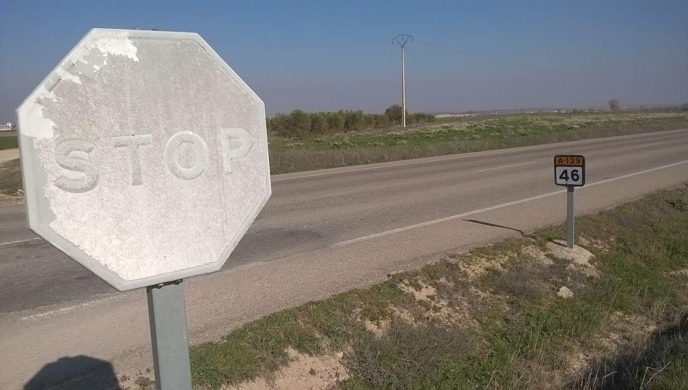 Señales STOP muy defectuosas