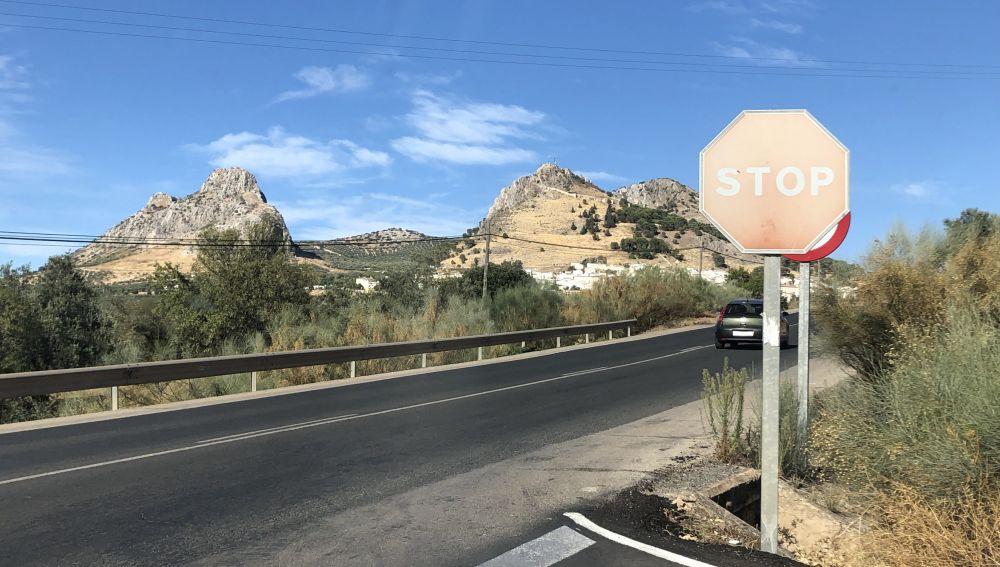 Señal de STOP no visible
