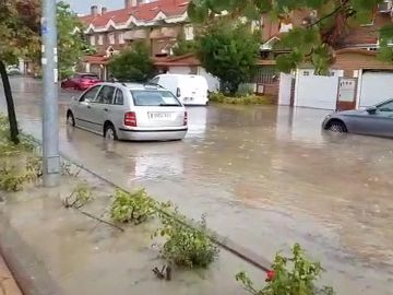 Fuertes tormentas provocan inundaciones e incidencias en el centro peninsular