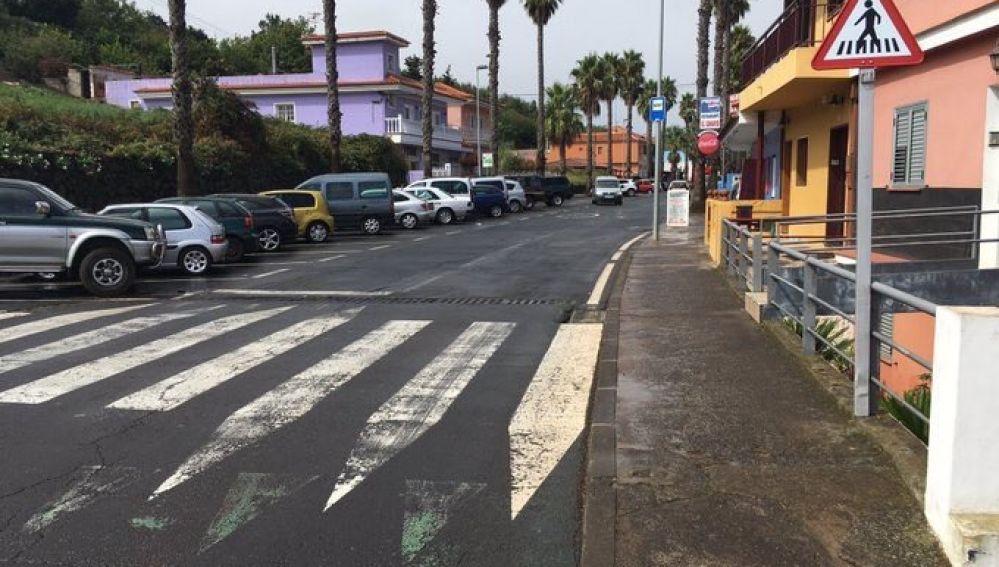 Mala señalización de paso de peatones
