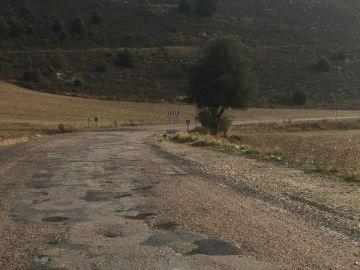 Arreglo carretera CM2107
