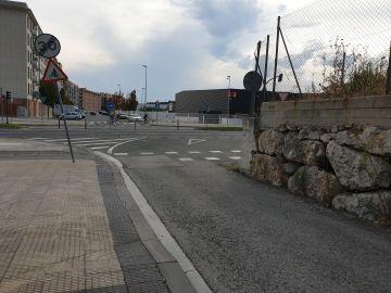 Paso de bicis peligroso